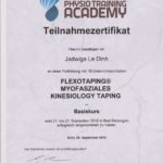 Physiotherapie Zertifikat 08